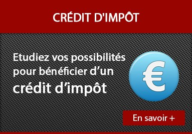 Financement et crédit d'impot