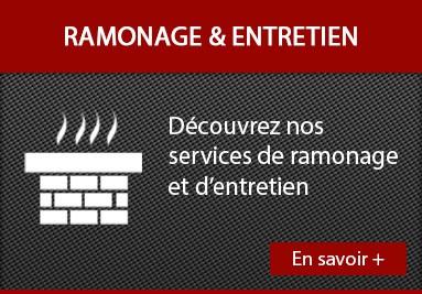 Ramonage et entretien de vos cheminées